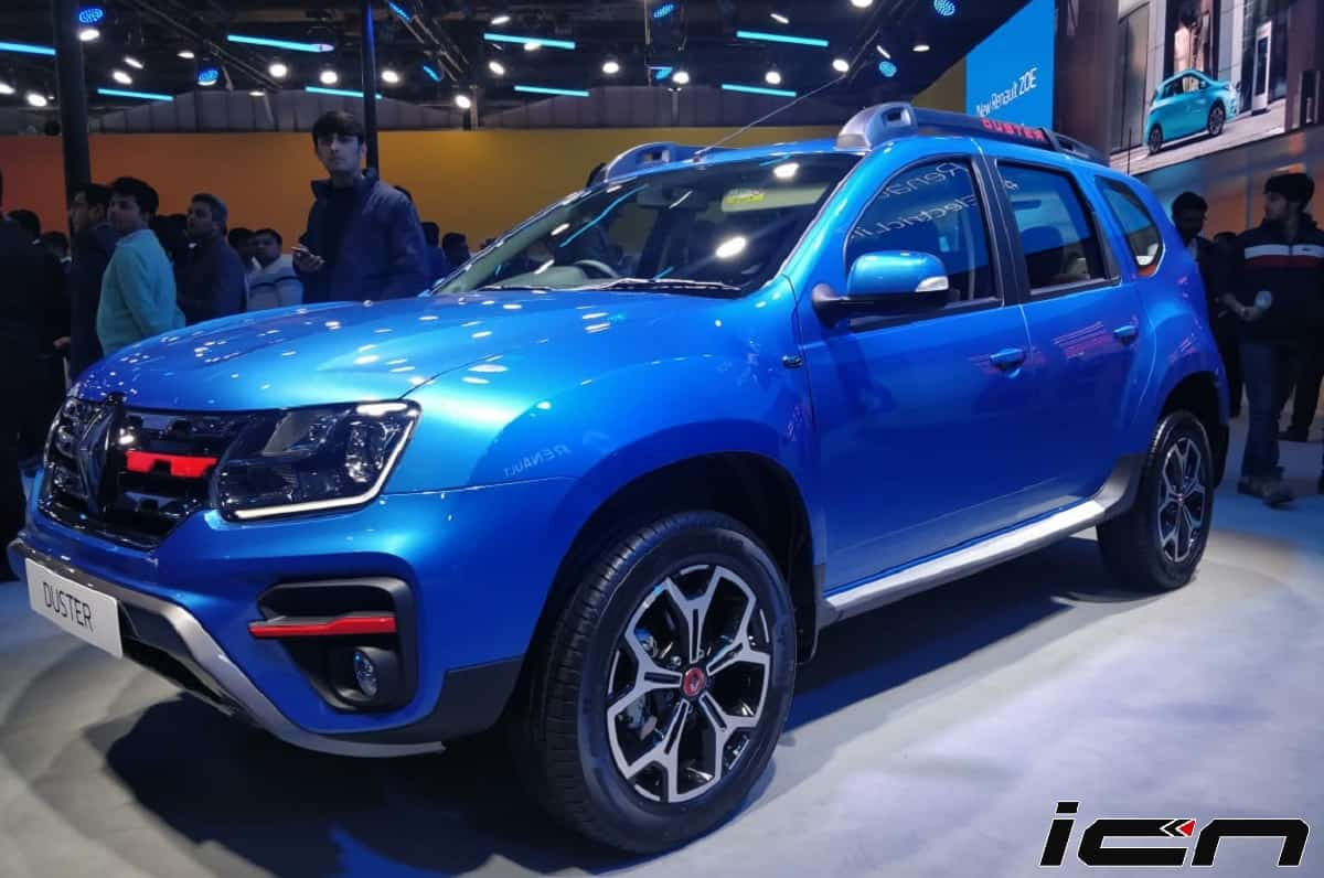 Renault Duster Turbo Petrol Unveiled; Launch Soon