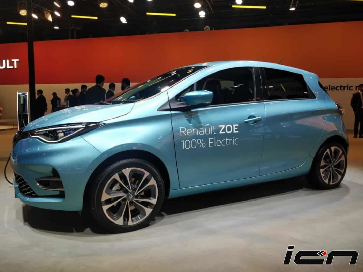 Renault Zoe Electric Hatchback At Auto Expo 2020