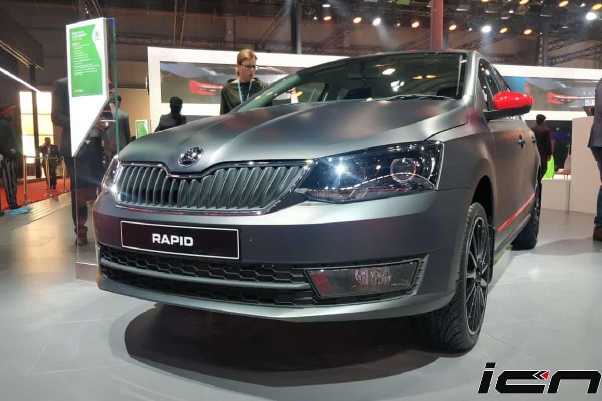 Skoda Rapid Matte Concept India Launch In Late 2020