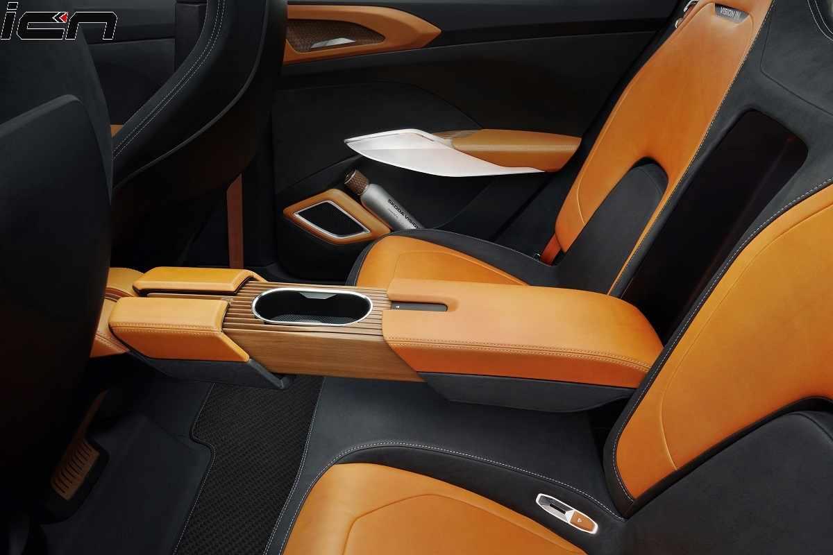 Skoda Vision IN rear seat