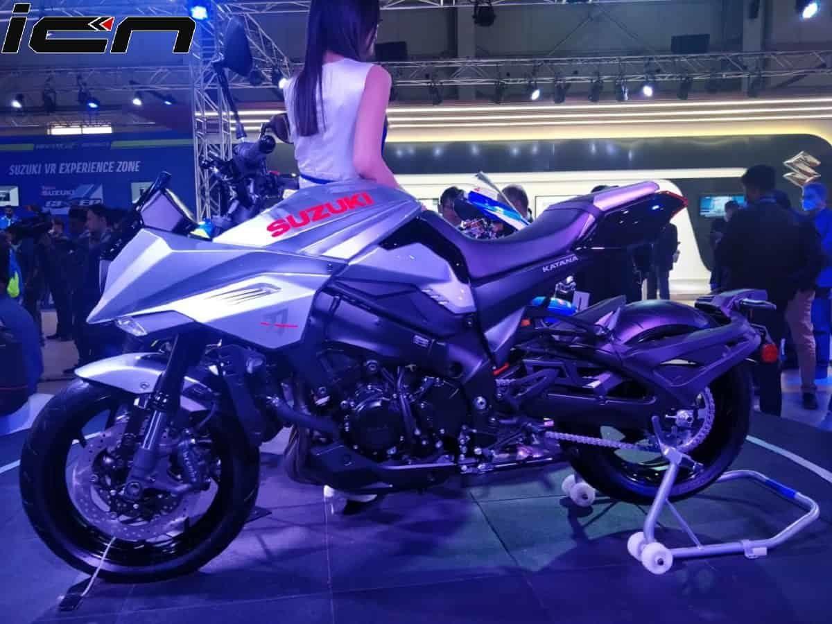 Suzuki Katana India Launch
