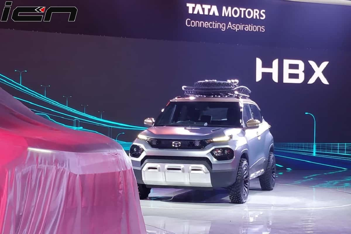 Tata HBX Mini SUV Concept At Auto Expo 2020