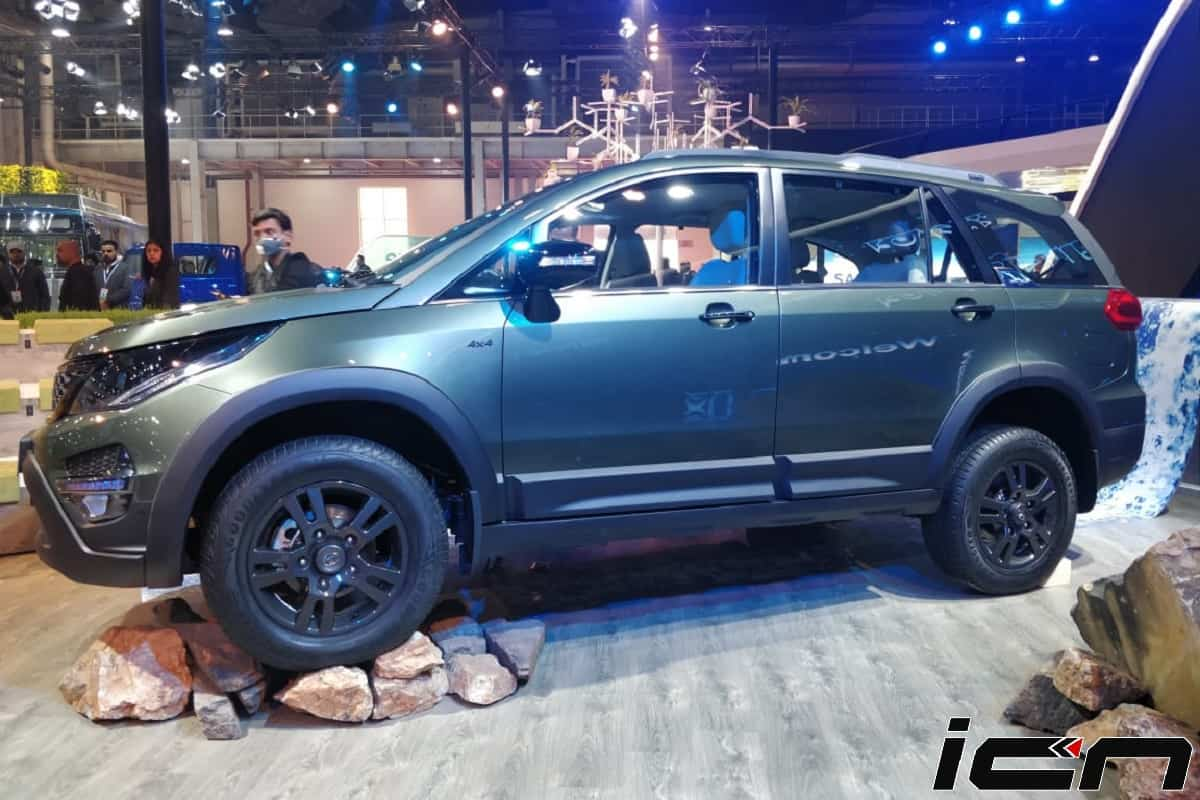 Tata Hexa Safari Edition Unveiled At Auto Expo 2020