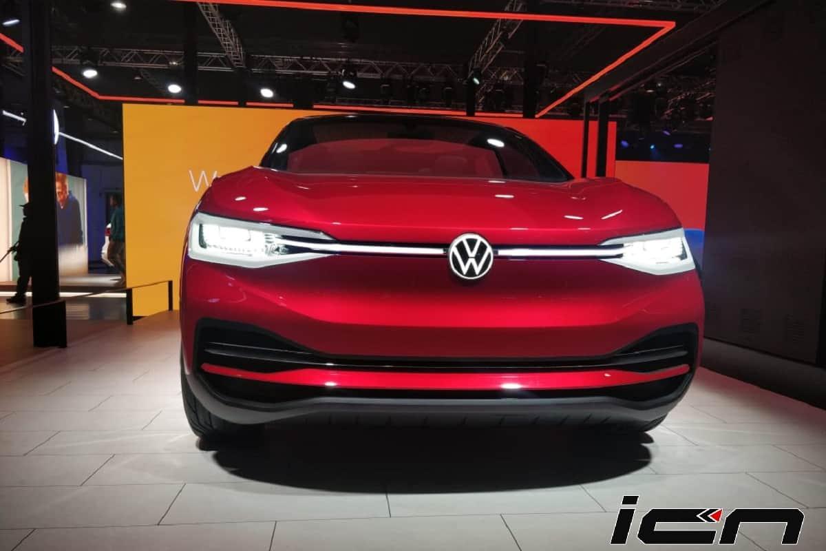 Volkswagen I.D. Crozz SUV Auto Expo 2020