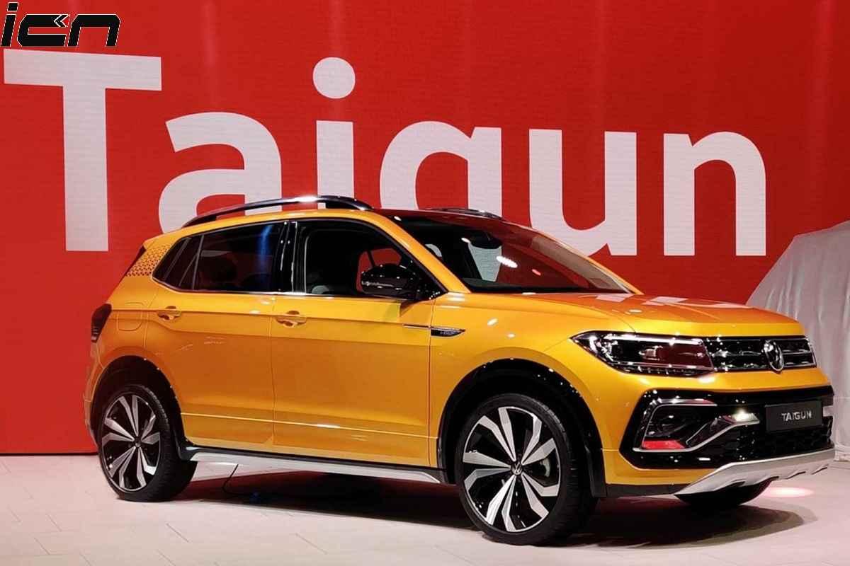 Volkswagen Taigun SUV Auto Expo