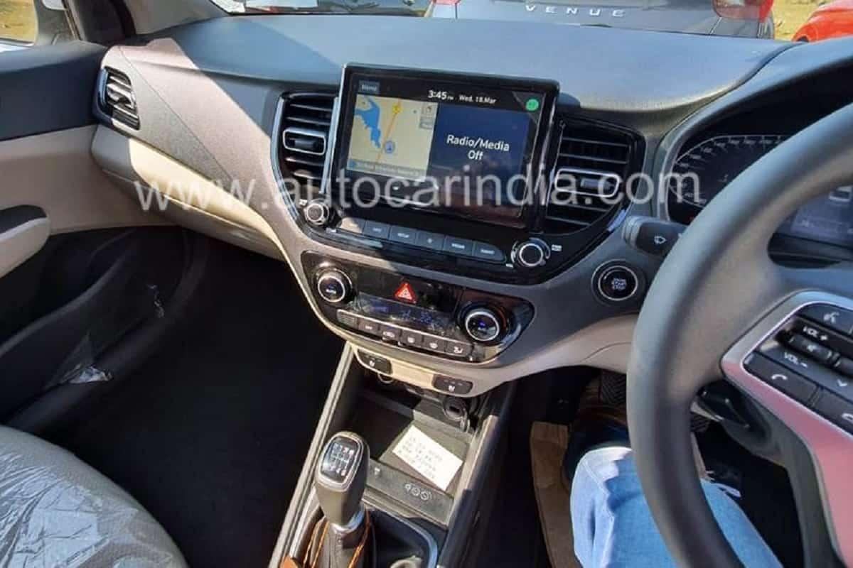 2020 Hyundai Verna Interior Details