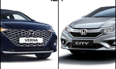 2020 Hyundai Verna Vs Honda City