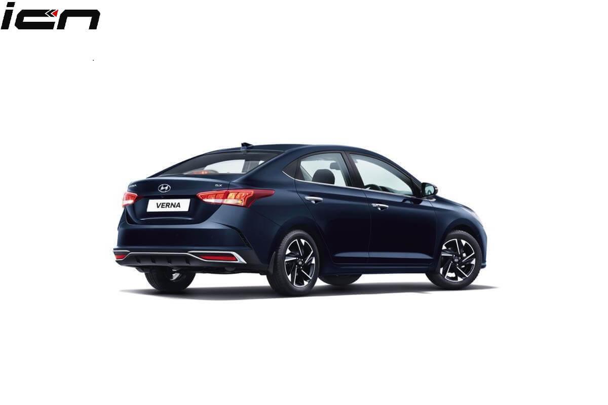 2020 Hyundai Verna facelift Specs