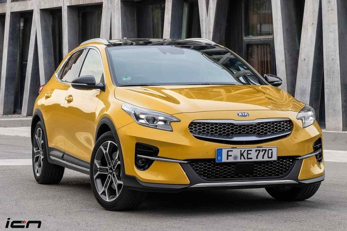 Kia XCeed Awarded For Its Design – Red Dot Design Award 2020