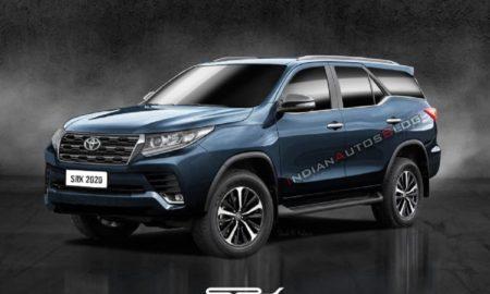 2020 Toyota Fortuner Rendered