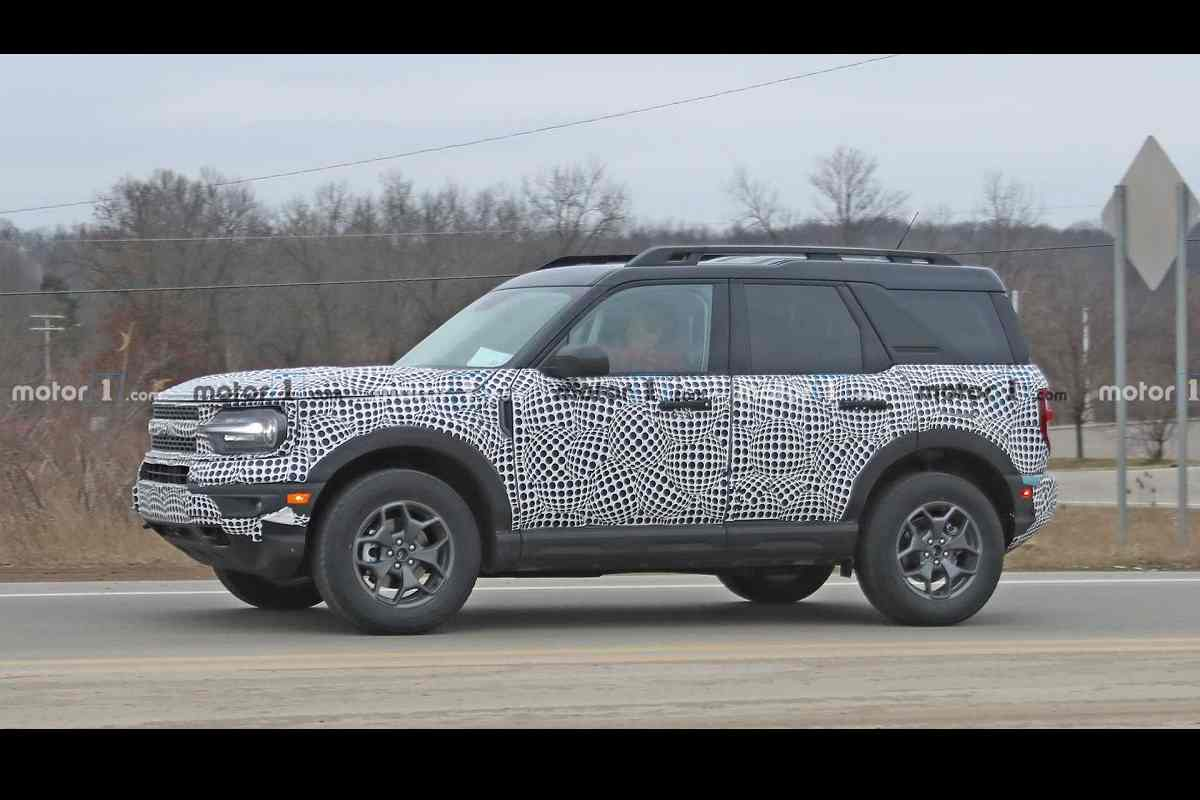 2021 Ford Bronco Spied Launch