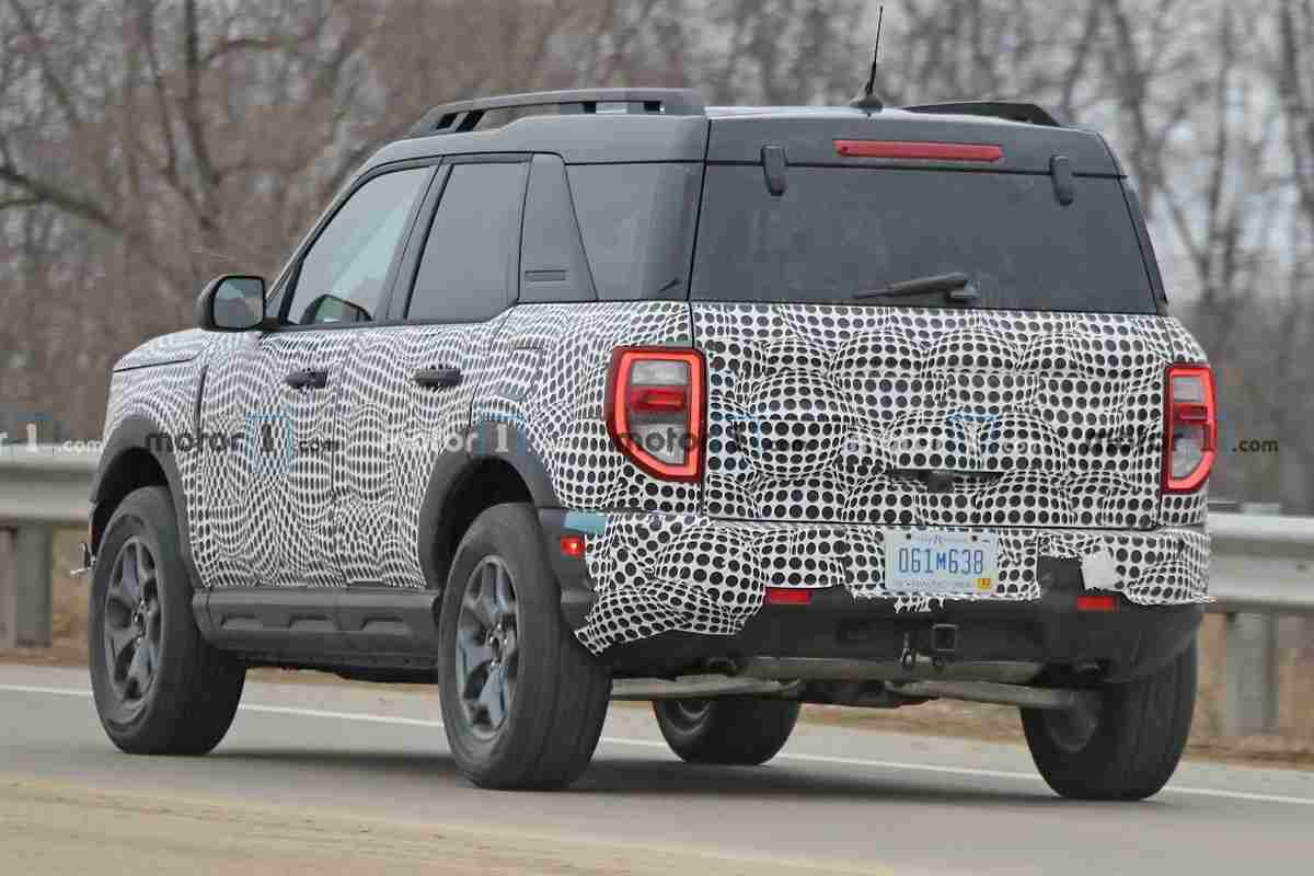 2021 Ford Bronco Sport Design Revealed In New Spy Images