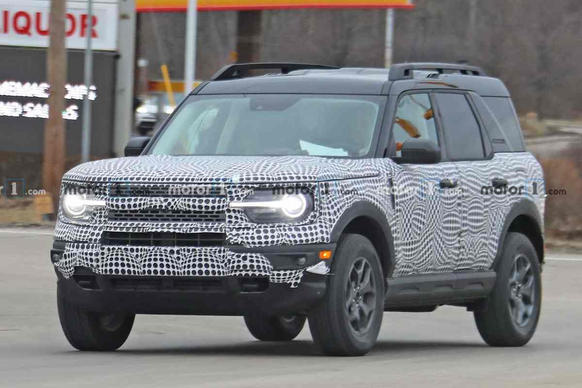 2021 Ford Bronco Spied