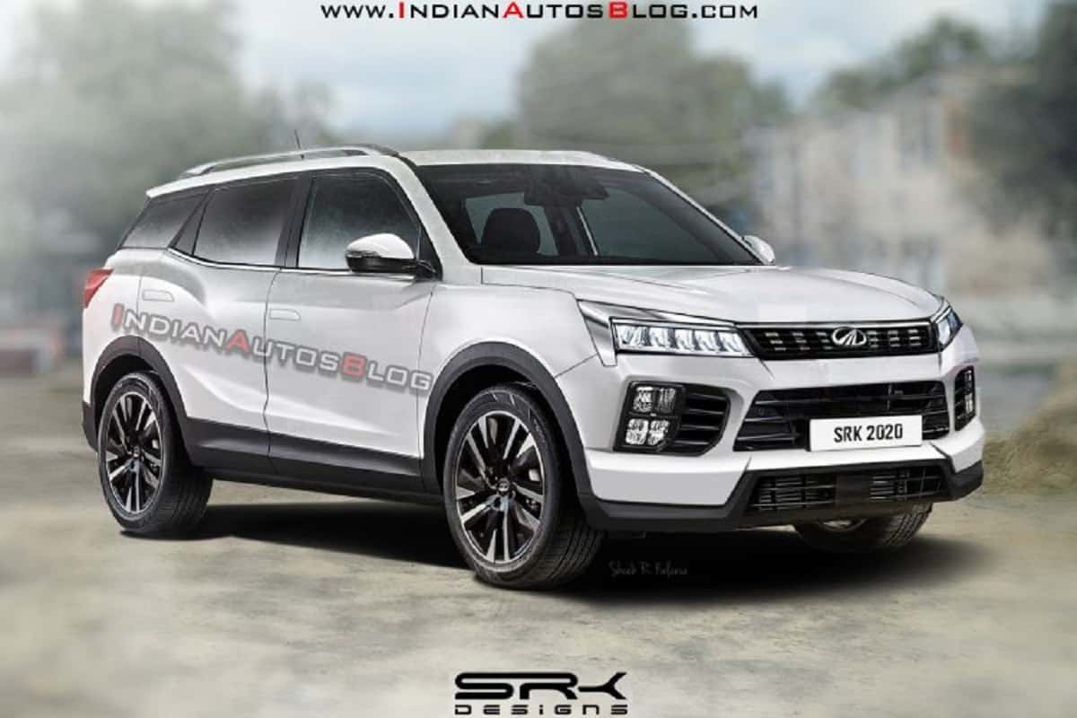 2021 Mahindra XUV500 Rendered Based On Funster Concept