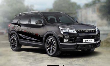 2021 Mahindra XUV500 Rendering