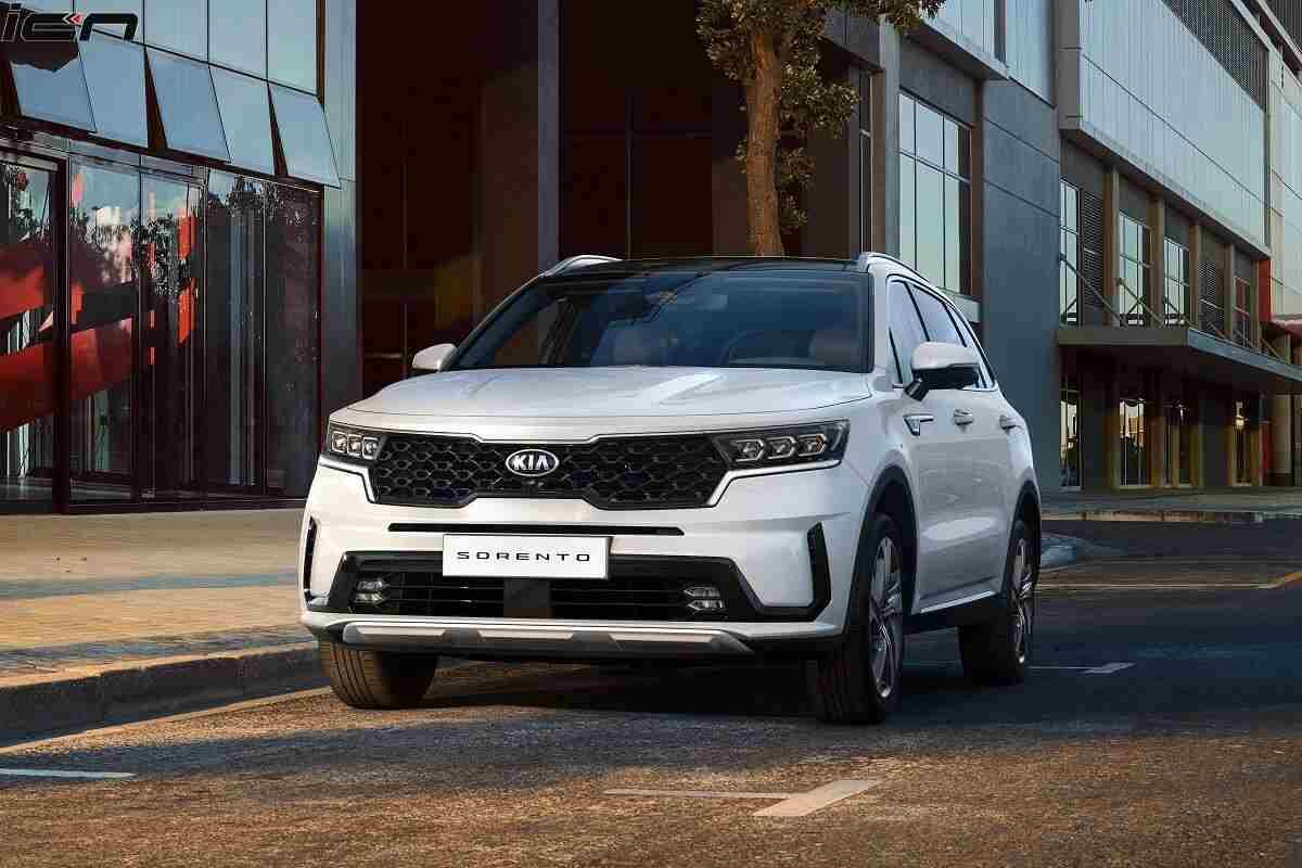 2021 Kia Sorento 7-seater SUV – Could Rival Toyota Fortuner in India