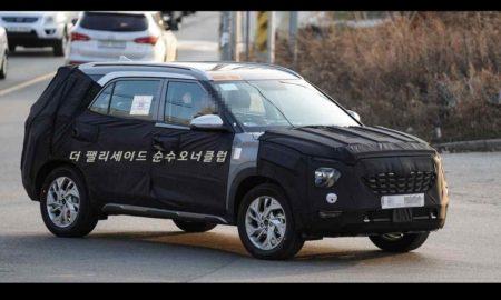 7-seater Hyundai Creta Spied