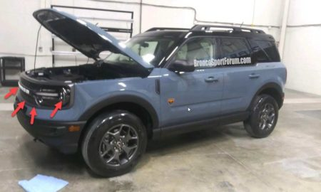 Ford Bronco Sport Spied