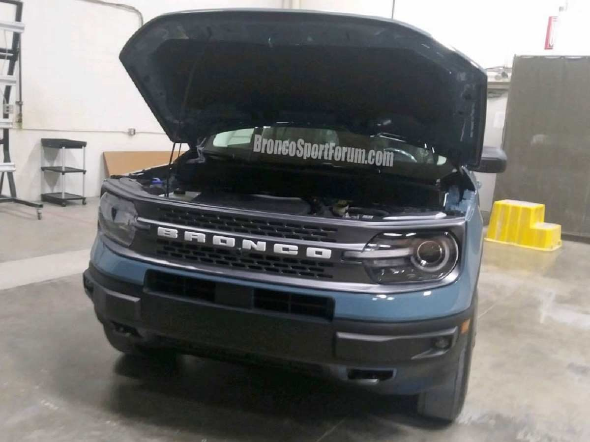 Ford Bronco Sport Spied Front