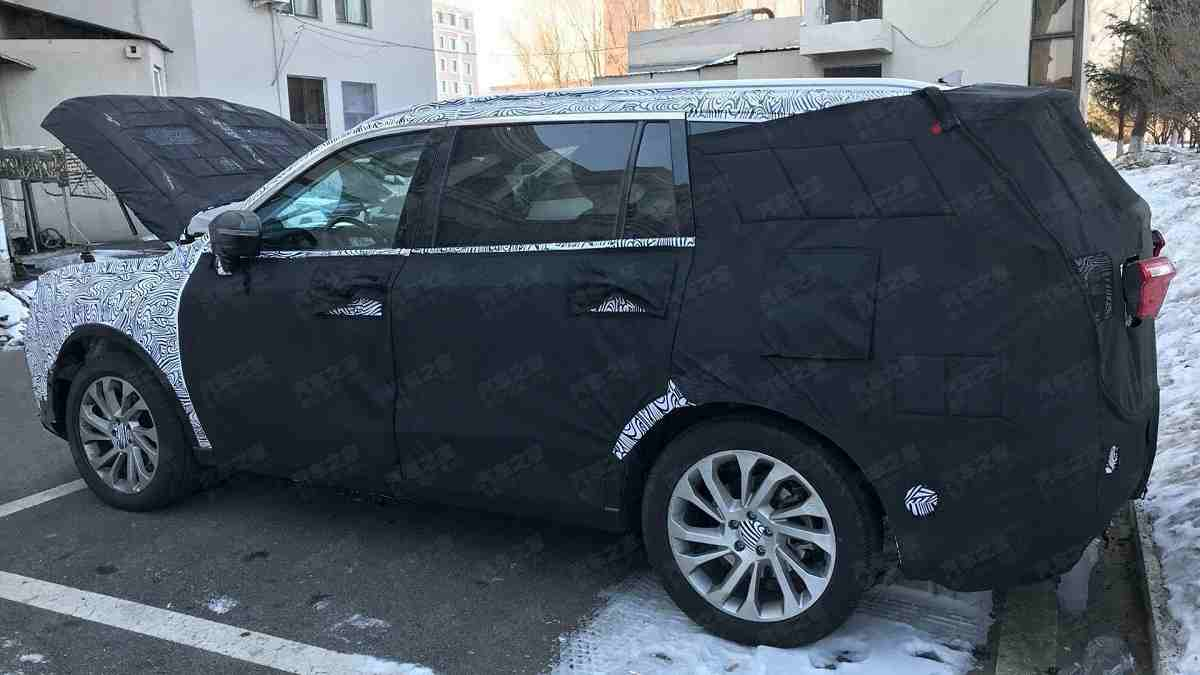 Ford Endeavour 2021 Spied 2