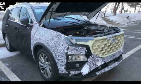 Ford Endeavour 2021 Spied