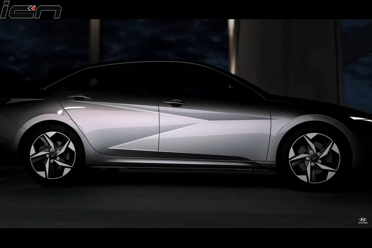New Hyundai Elantra 2021 First Images Out; Unveil on March 17