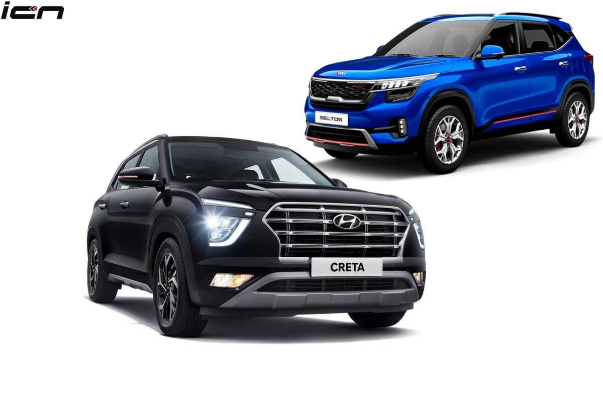 New Hyundai Creta Vs Kia Seltos