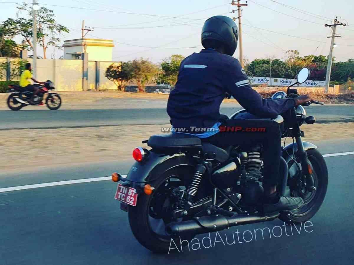 All-New Royal Enfield Meteor (Next Thunderbird) New Images Out