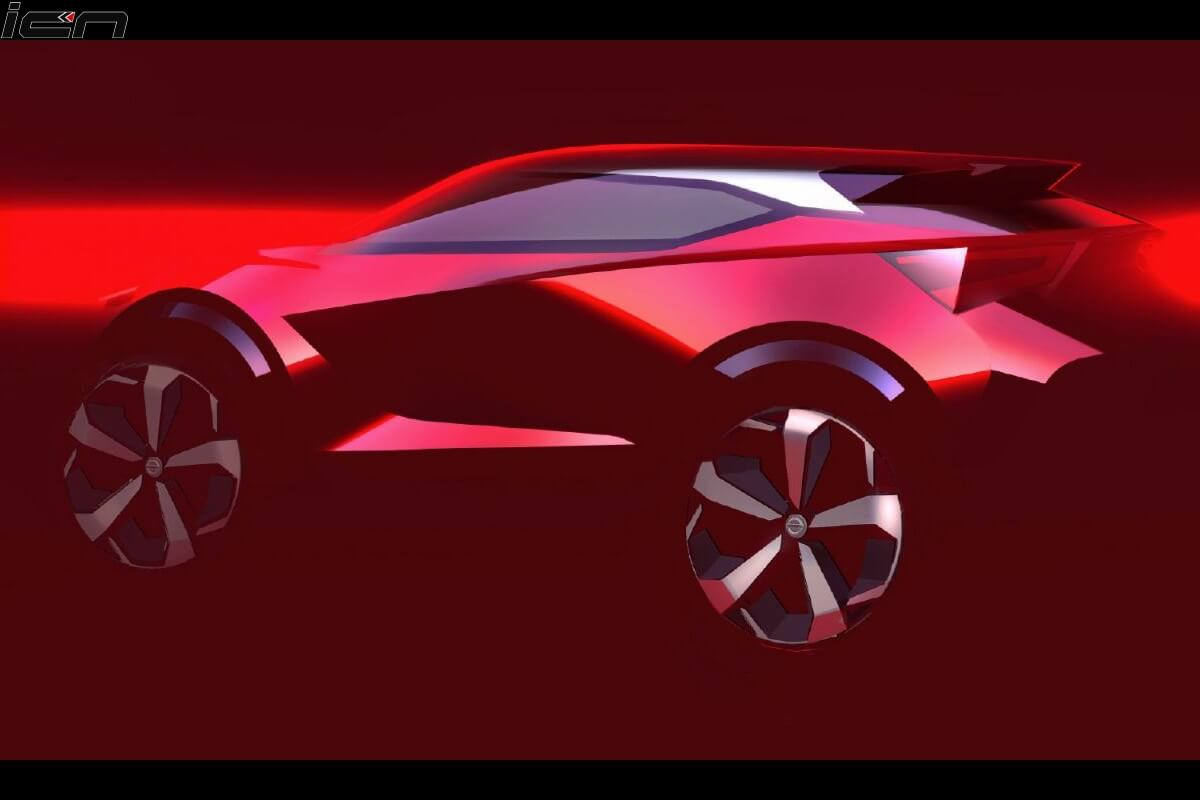 Nissan Compact SUV Rendering (1)