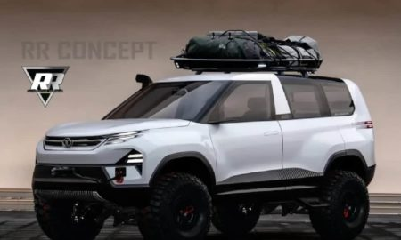 Tata Sierra Off-road Rendered