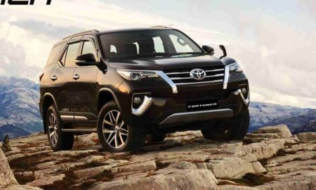 Toyota Fortuner Facelift 1