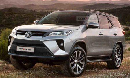 2020 Toyota Fortuner Rendering