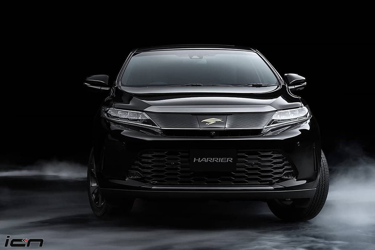2021 Toyota Harrier front