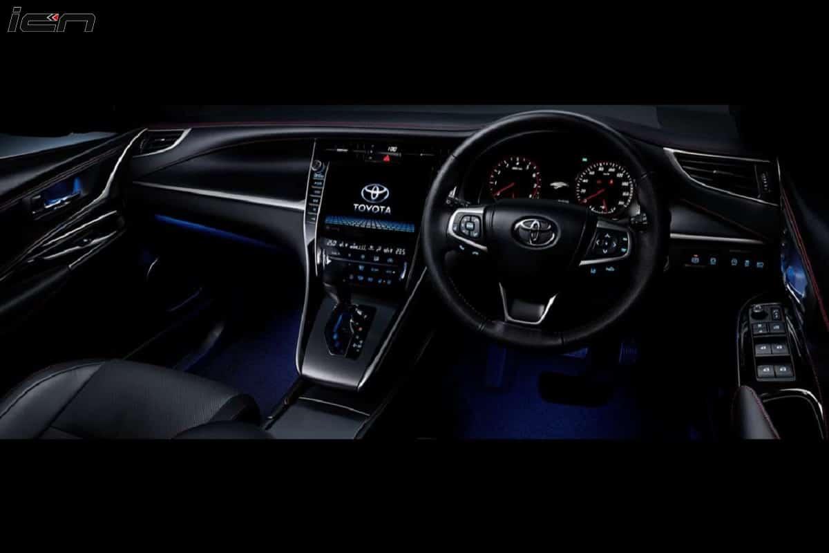2021 Toyota Harrier interior