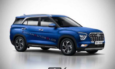 Hyundai 7-Seater SUV Rendering