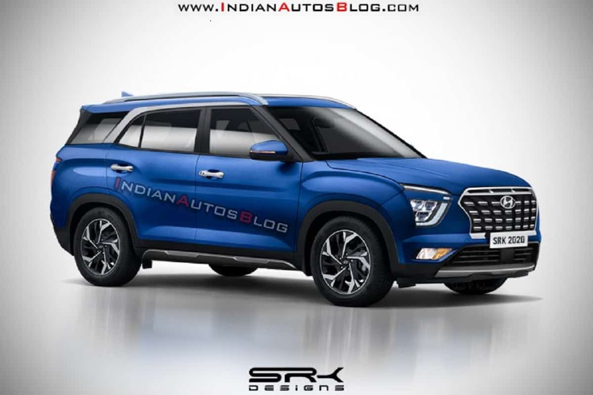 7-Seat Hyundai Creta Rear Design Imagined Via New Rendering
