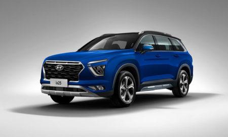 Hyundai Alcazar Grand Creta Rendered