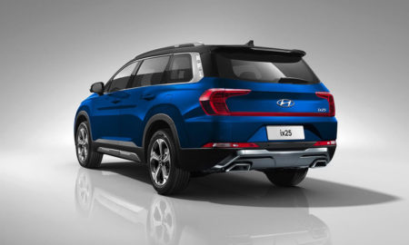 Hyundai Grand Creta 7-seater Rendered rear