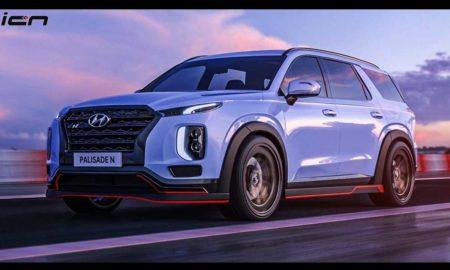 Hyundai Palisade N Rendering 2