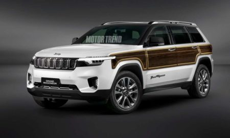 Jeep Grand Wagoneer Rendering
