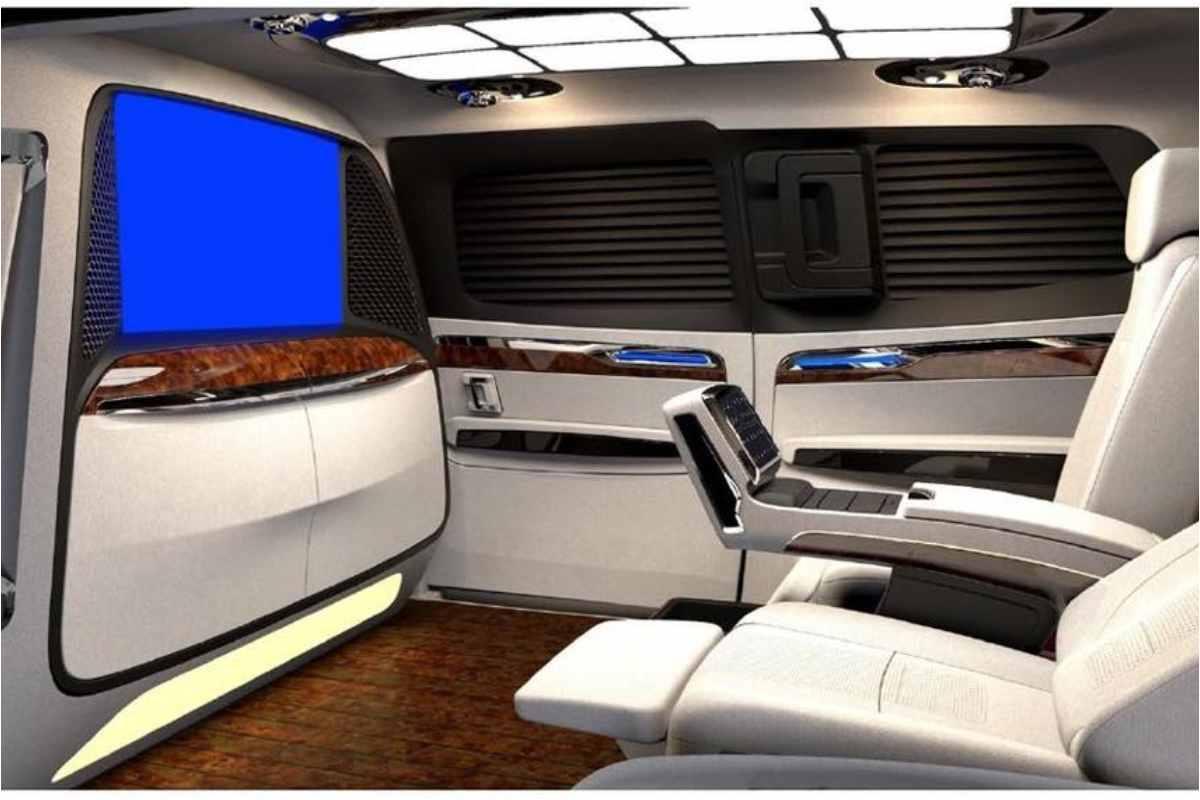 4-Seater Kia Carnival MPV – Interior Modified By DC Design