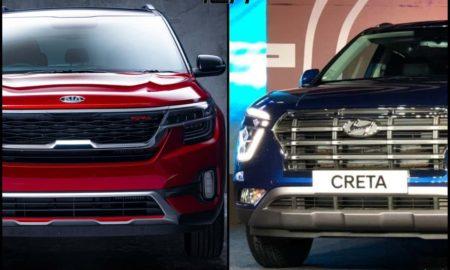 Kia Seltos Vs Hyundai Creta Sales