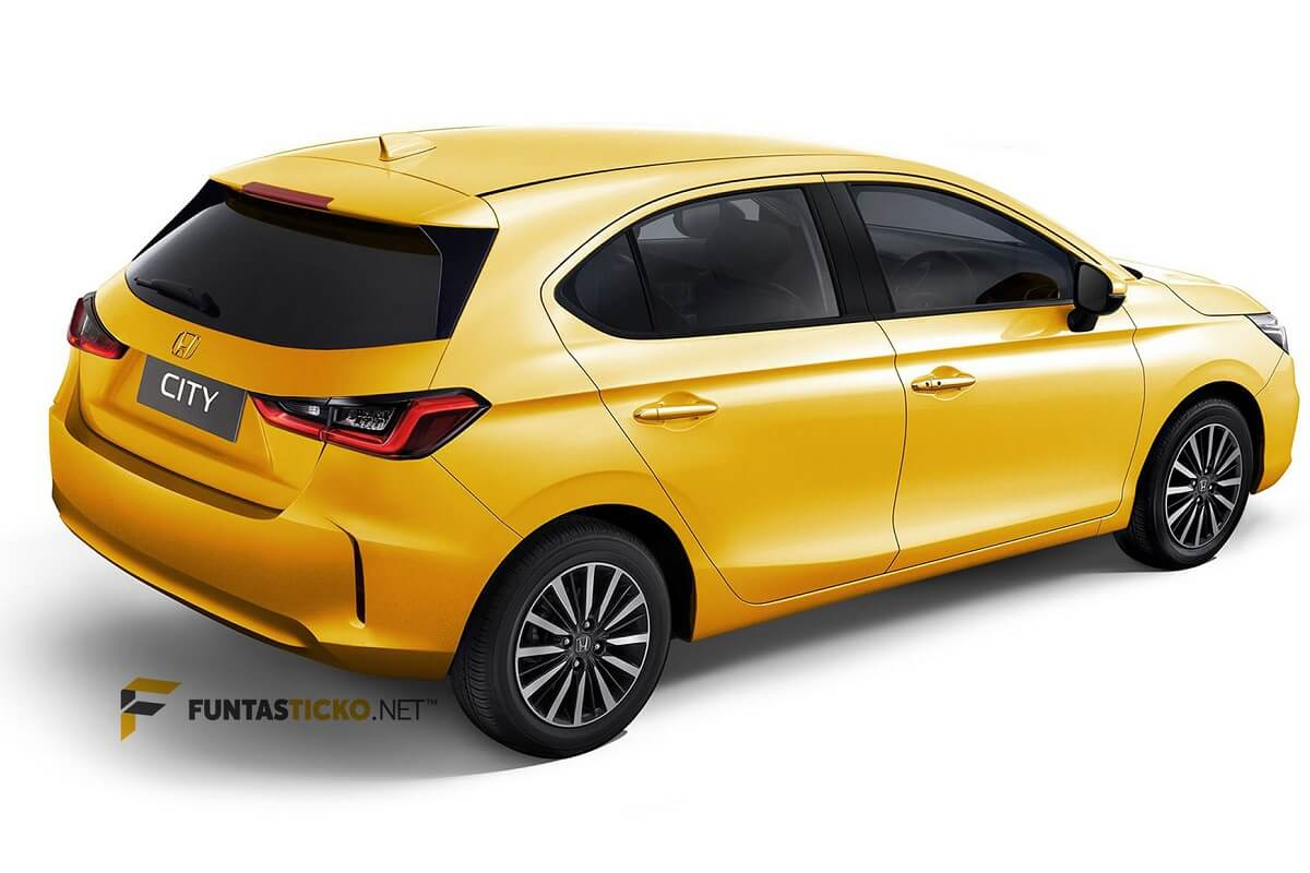 New City Hatchback Rendered rear