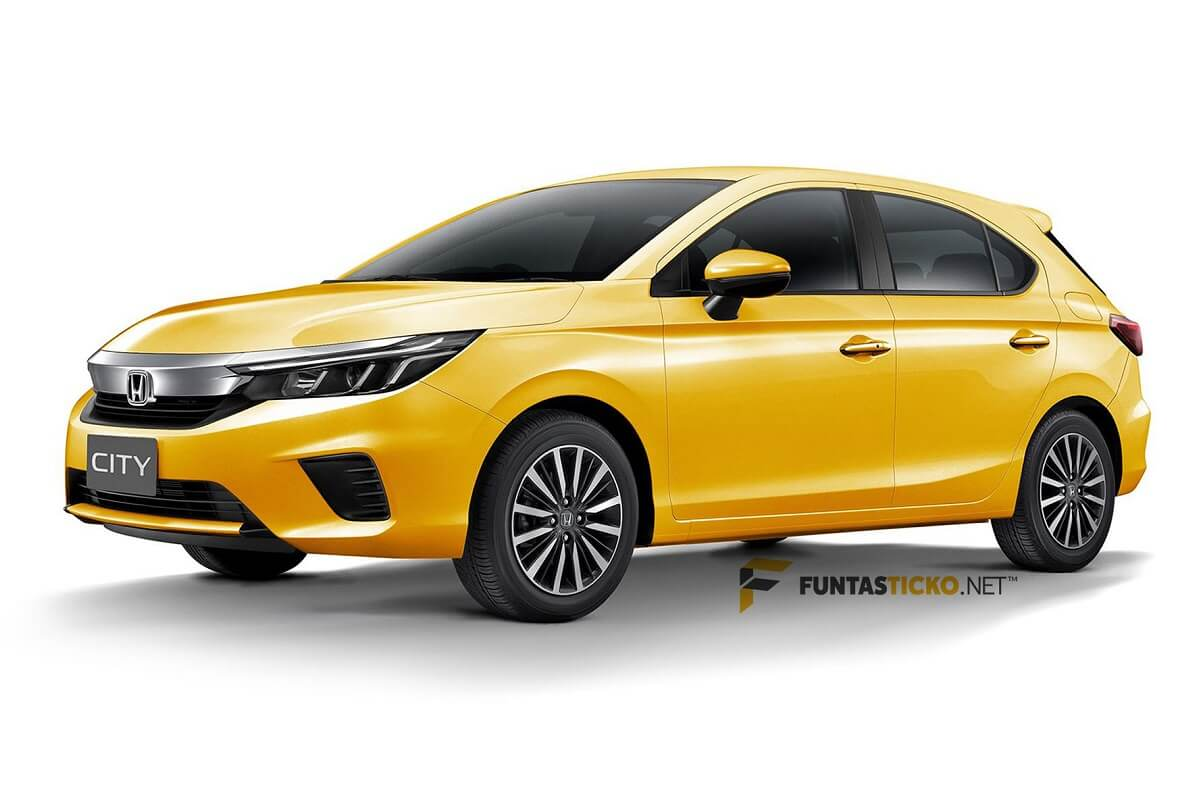 New City Hatchback Rendered