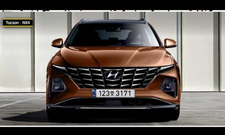 New Hyundai Tucson Rendering