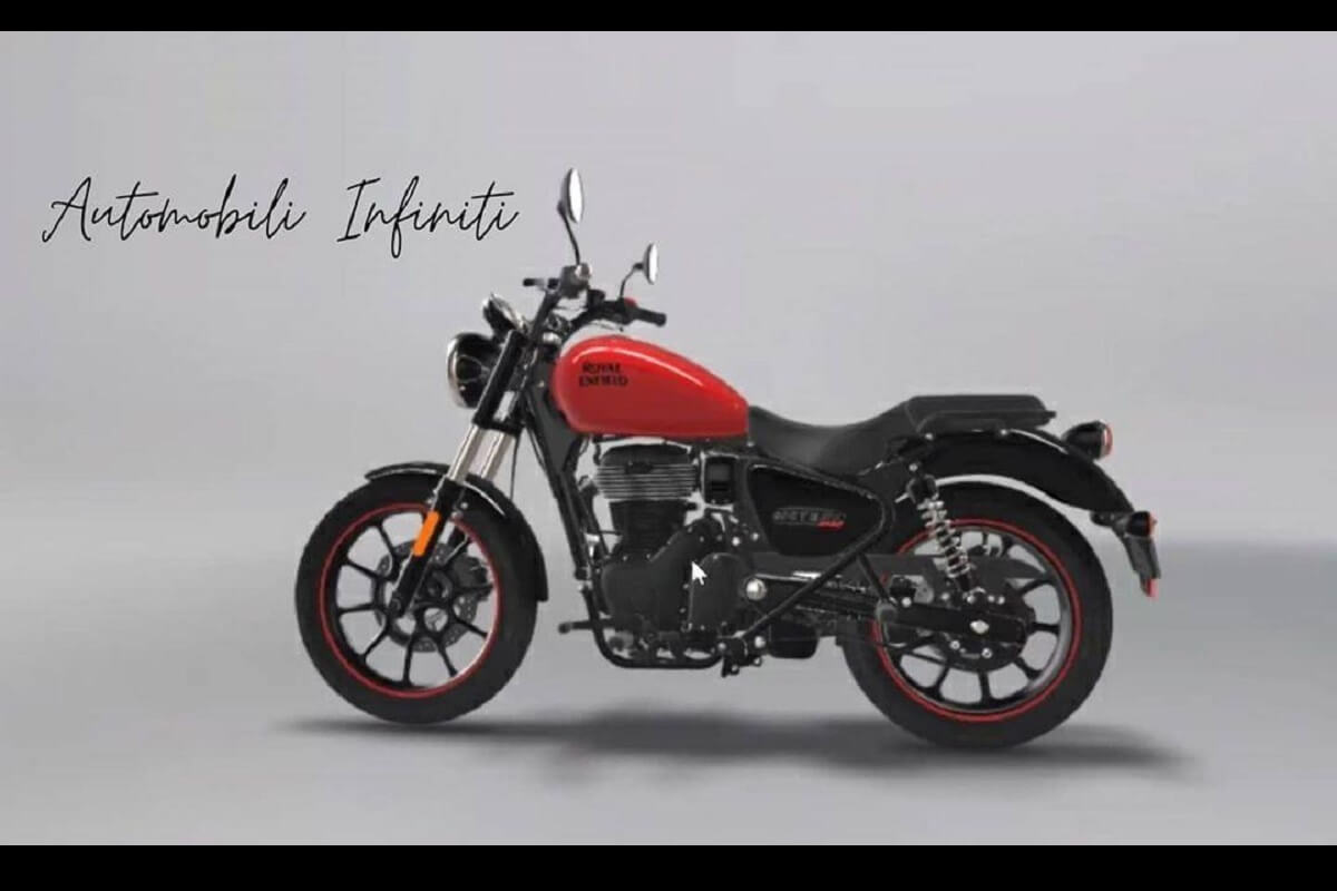 RE Meteor 350cc Leaked