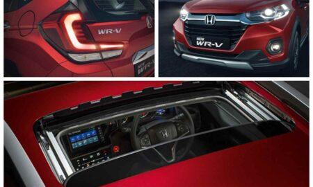 2020 Honda WR-V facelift