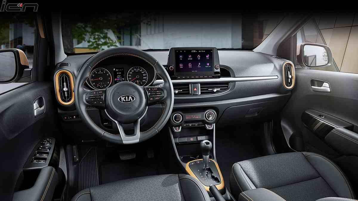 2020 Kia Picanto facelift Interior