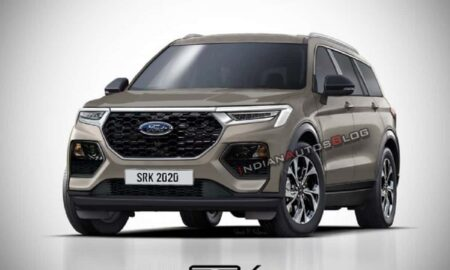2021 Ford Endeavour Rendered