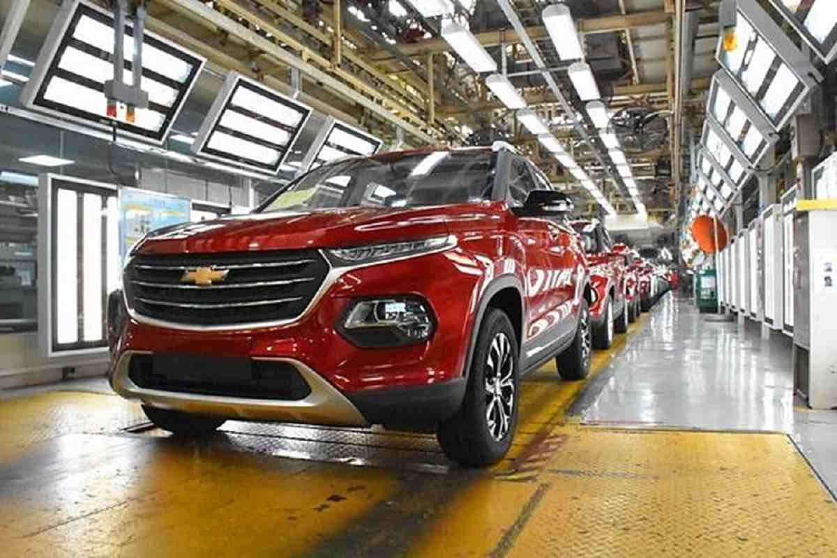 Chevrolet Groove SUV production